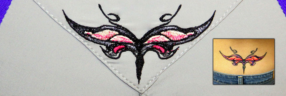 custom suit applique